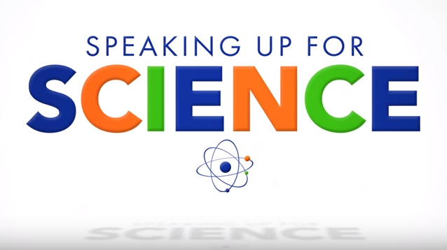 Speaking Up For Science